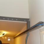 依據室內牆樑配置線槽