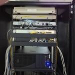 既有光纖網路主幹配置NVR SERVER