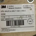 有線網路, 纜線, 3M-CAT.6A-UFTP標籤
