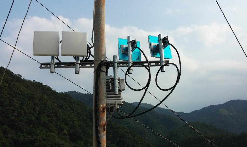 遠距離無線網路-中繼模式-發射與接收