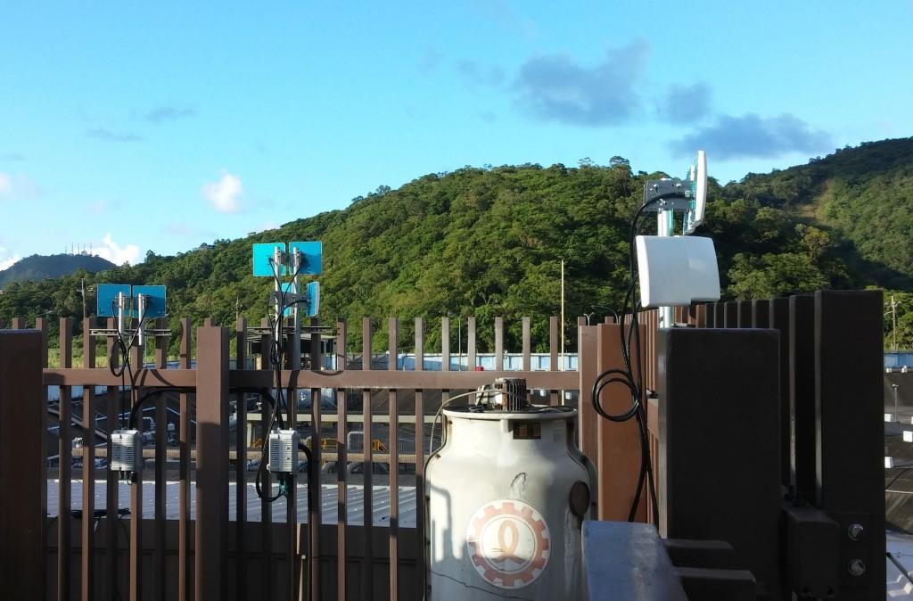 遠距離無線網路-接收與發射各個獨立方向