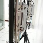 移動式 無線網路 攝影機 - 角鋼配置便利